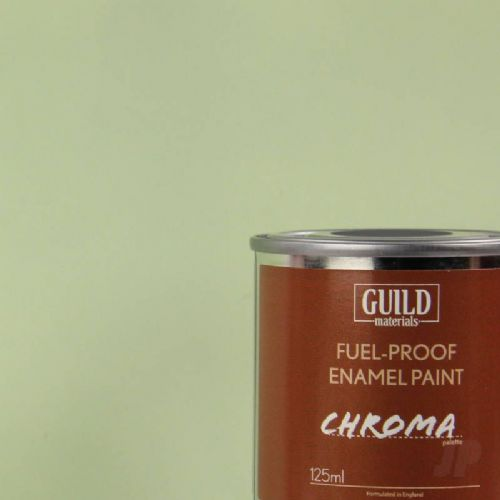 Guild Materials Matt Duck Egg Blue Enamel Fuel-Proof Paint (125ml Tin) GLDCHR6313